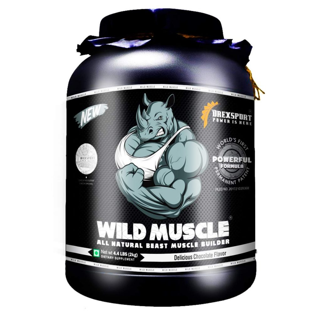 Drexsport  - Wild Muscle - All Natural Muscle Gainer Supplement