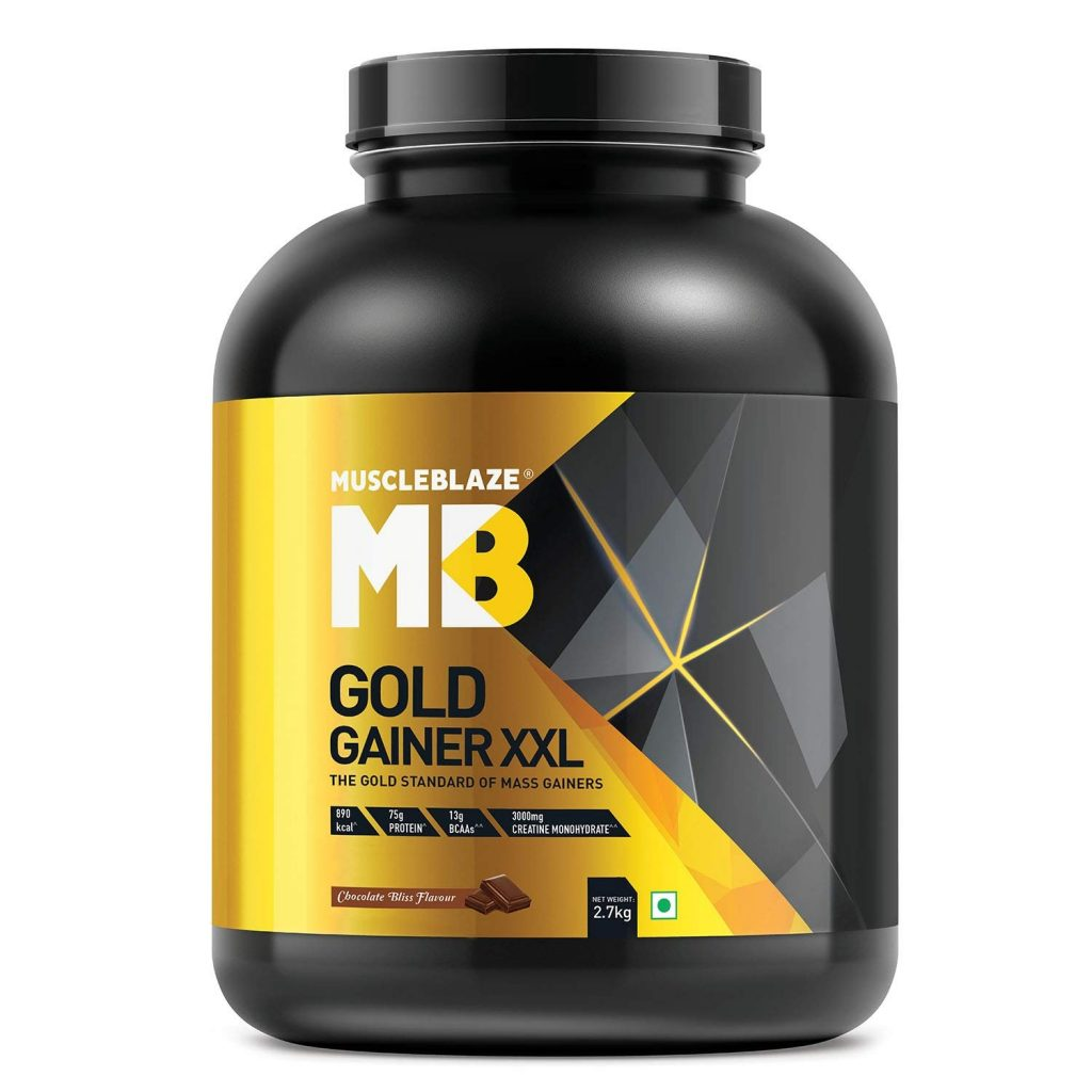 #6. Muscleblaze Gold Gainer XXL Weight Gainer