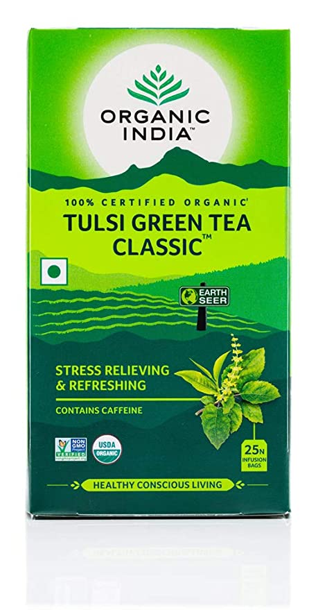 Organic India - Tulsi Classic Green Tea