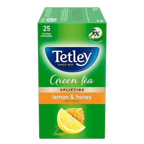 Tetley Green Tea Bags - Lemon and Honey