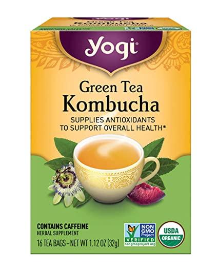 Yogi Kombucha Organic Green Tea