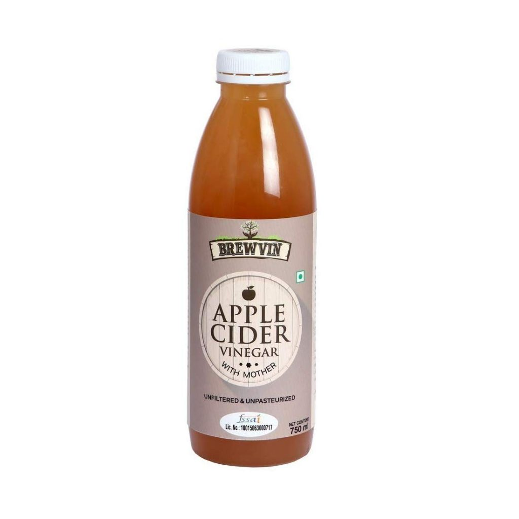 Brewvin Raw And Unfiltered Apple Cider Vinegar With Mother