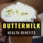 Buttermilk health benefits