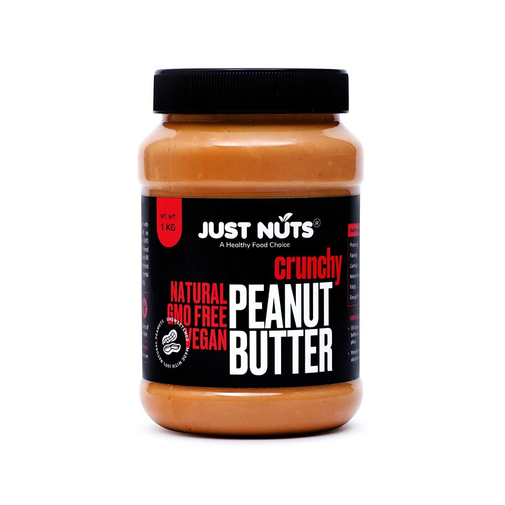 Just Nuts All Natural Crunchy Peanut Butter