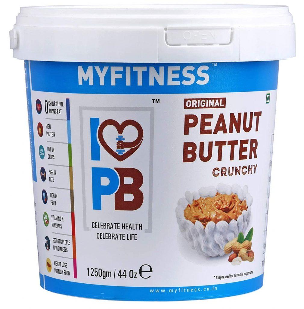 Myfitness Peanut Butter Crunchy
