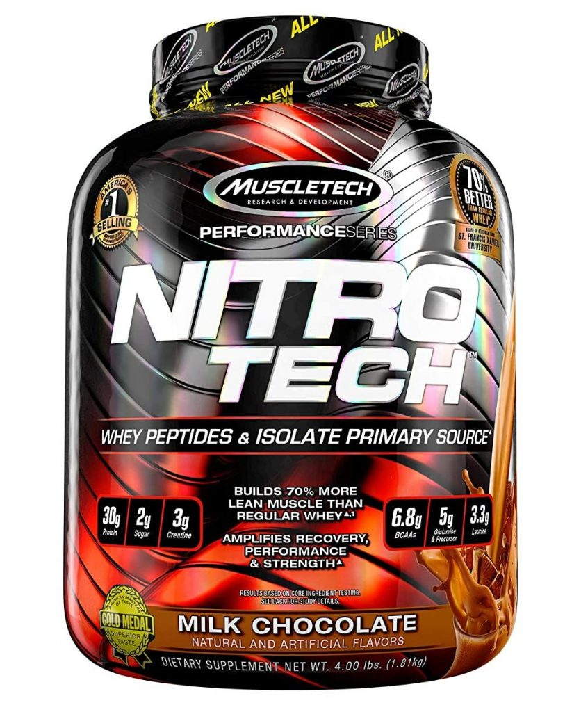 Nitrotech Performance Series Whey Protein