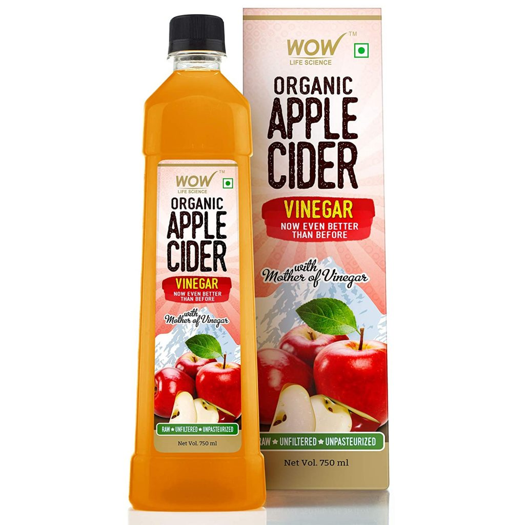 WOW Raw Apple Cider Vinegar With Mother
