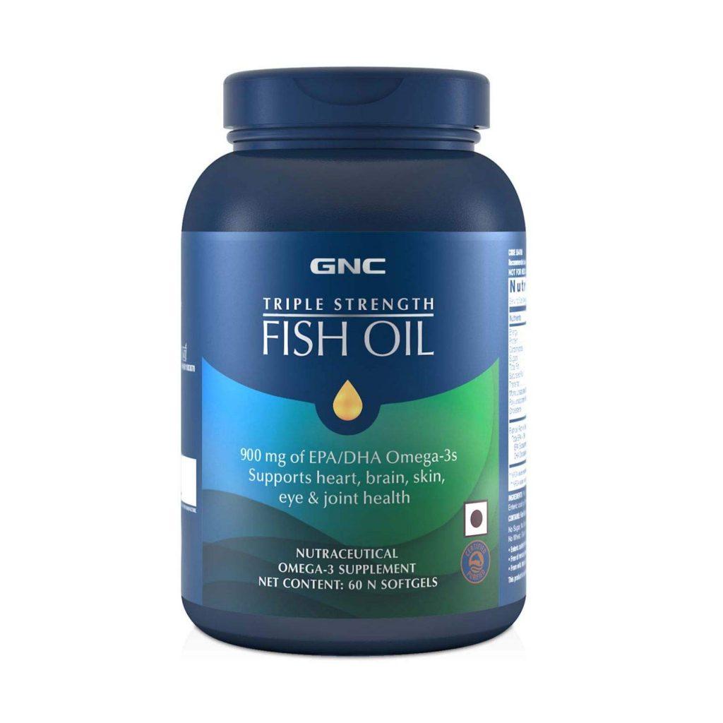 GNC Triple Strength Fish Oil Omega 3