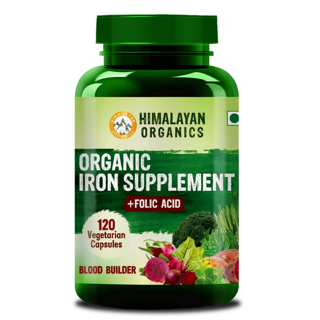 Himalayan Organics - Organic Iron Supplement