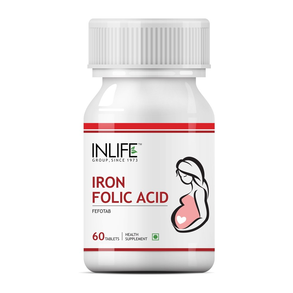 Inlife Iron Folic Acid Supplement