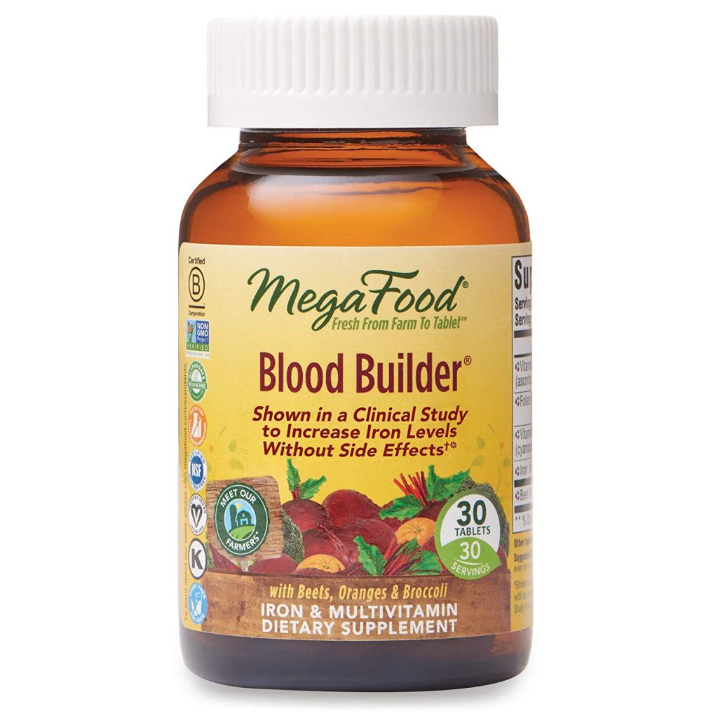 MegaFood - Blood Builder Energy Boosting Iron Supplement
