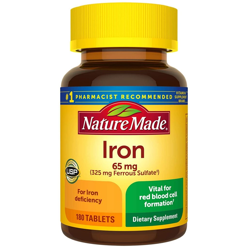 Nature Made Iron Supplement